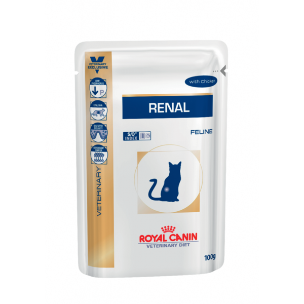 Royal Canin Feline Renal with Chicken Pouch